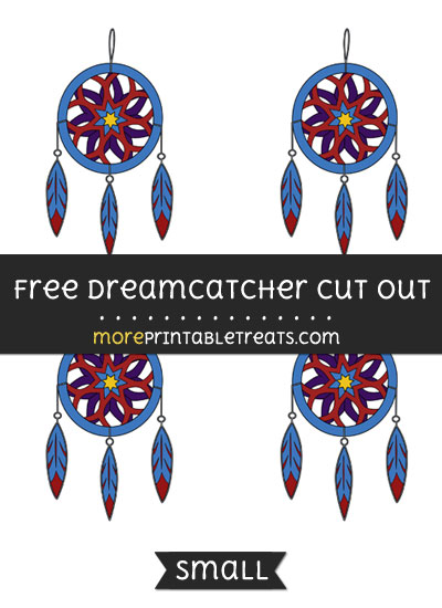 Free Dreamcatcher Cut Out - Small Size Printable