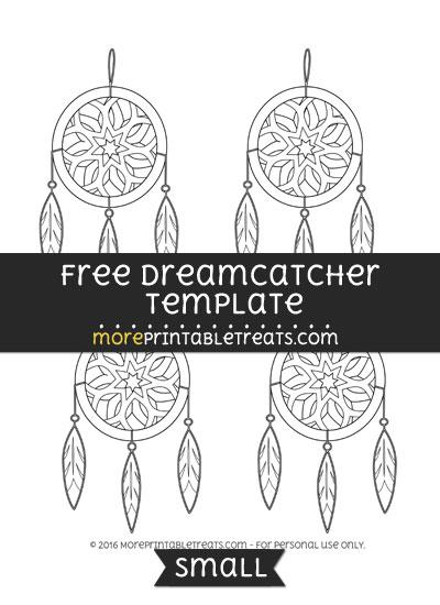 Free Dreamcatcher Template - Small
