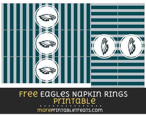 Free Philadelphia Eagles Eagles Napkin Rings