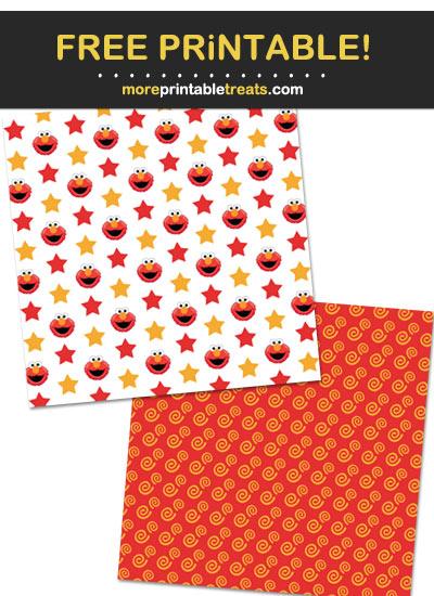 Free Printable Elmo Backgrounds