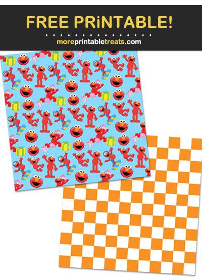 Free Printable Elmo Wrapping Paper