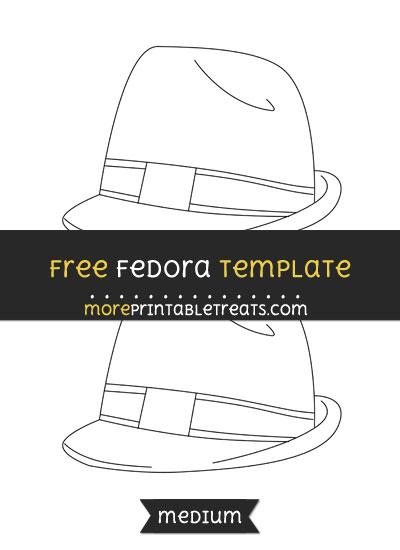 Free Fedora Template - Medium
