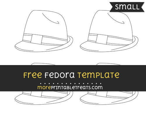 Free Fedora Template - Small
