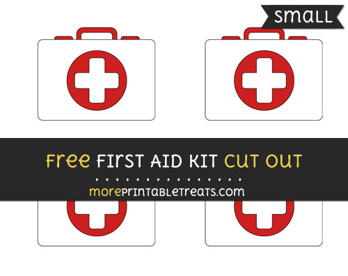 Free First Aid Kit Cut Out - Small Size Printable