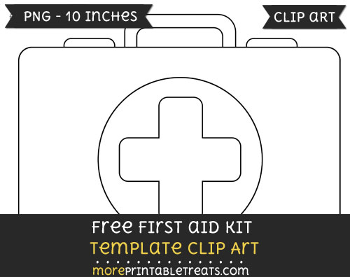 Free First Aid Kit Template - Clipart