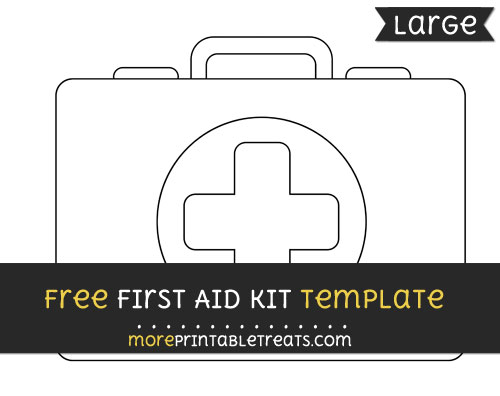 Free First Aid Kit Template - Large