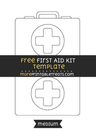 Free First Aid Kit Template - Medium