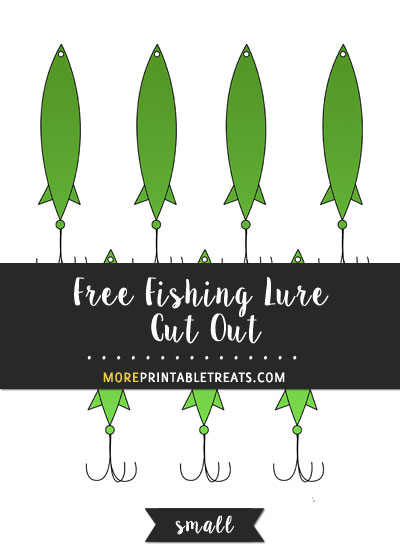 Free Fishing Lure Cut Out - Small