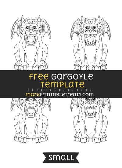 Free Gargoyle Template - Small