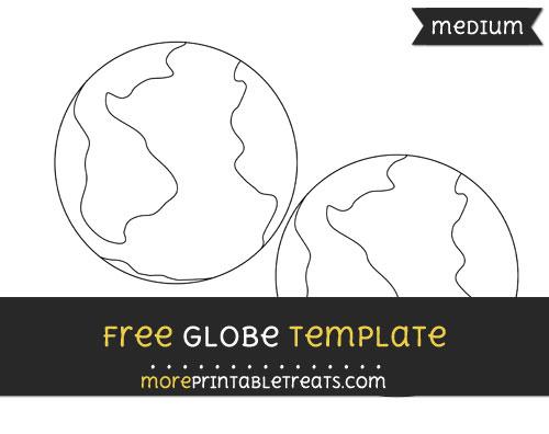Free Globe Template - Medium