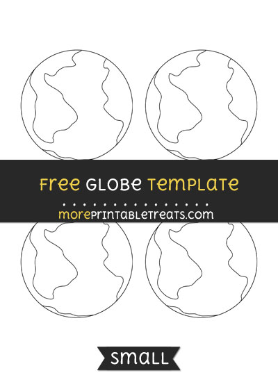 Free Globe Template - Small