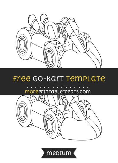Free Go Kart Template - Medium