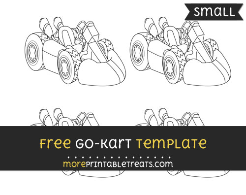 Free Go Kart Template - Small