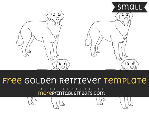 Free Golden Retriever Template - Small