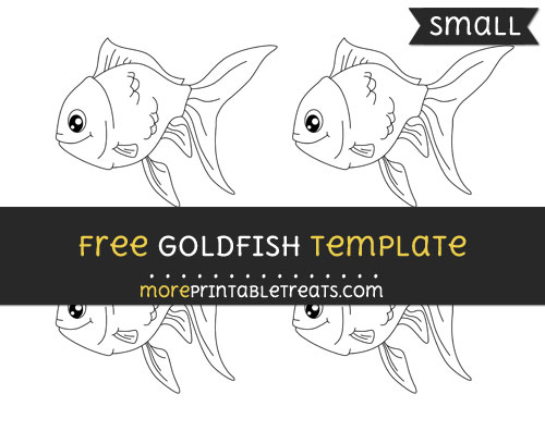 Free Goldfish Template - Small