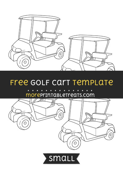 Free Golf Cart Template - Small