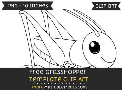 Free Grasshopper Template - Clipart