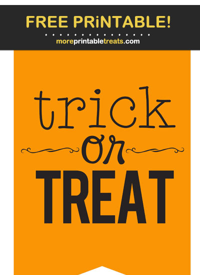 Free Printable Halloween Bunting Banner Cut Out