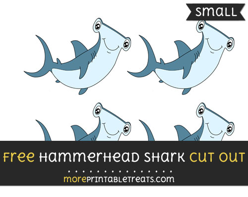 Free Hammerhead Shark Cut Out - Small Size Printable