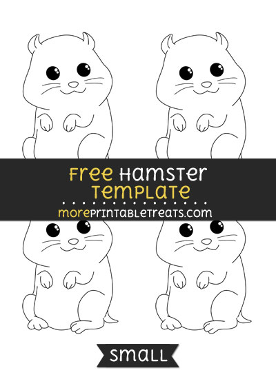 Free Hamster Template - Small