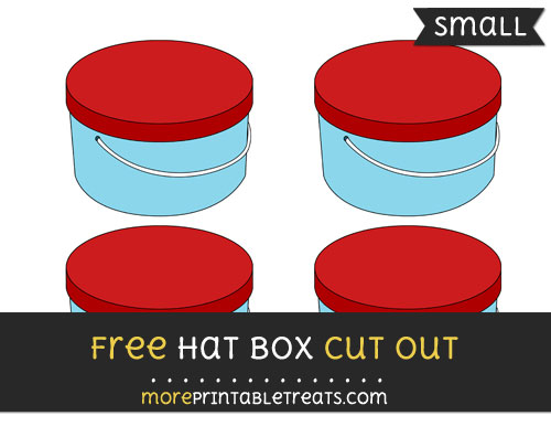 Free Hat Box Cut Out - Small Size Printable