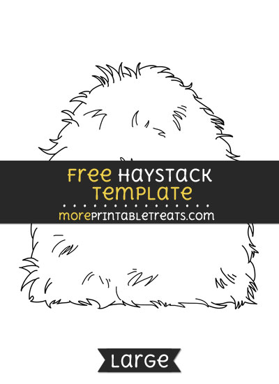 Free Haystack Template - Large