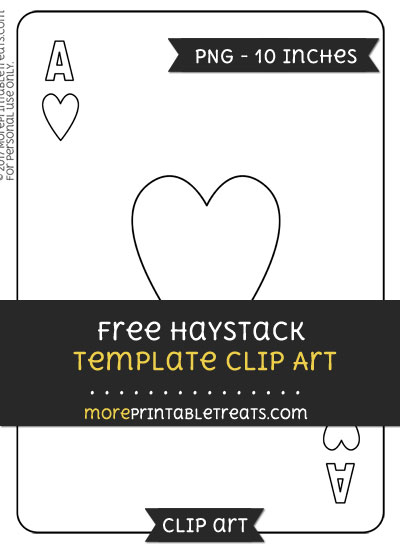 Free Heart Card Template - Clipart
