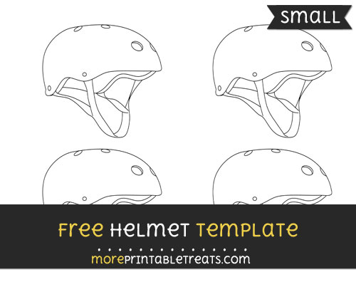 Free Helmet Template - Small
