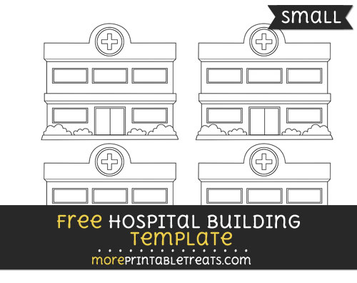 Free Hospital Building Template - Small