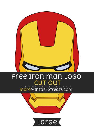 Free Iron Man Logo Cut Out - Large size printable