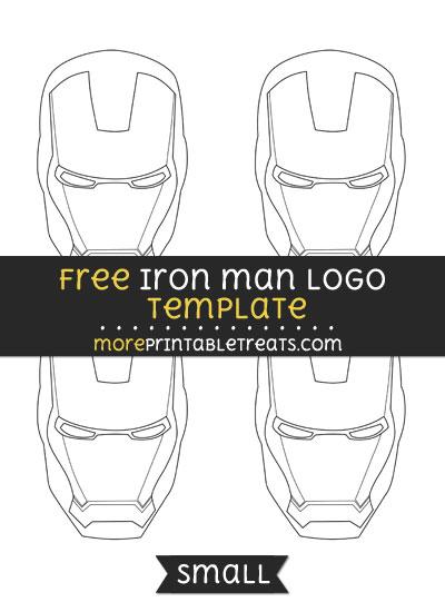 Free Iron Man Logo Template - Small