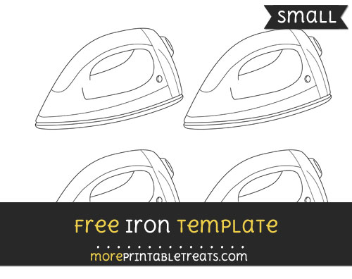 Free Iron Template - Small