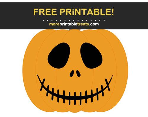 Free Printable Jack-o-Lantern