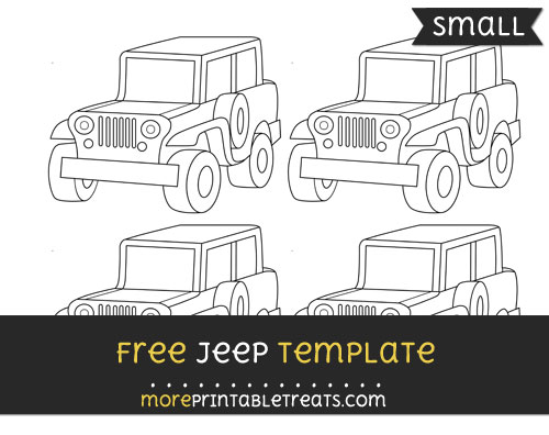 Free Jeep Template - Small