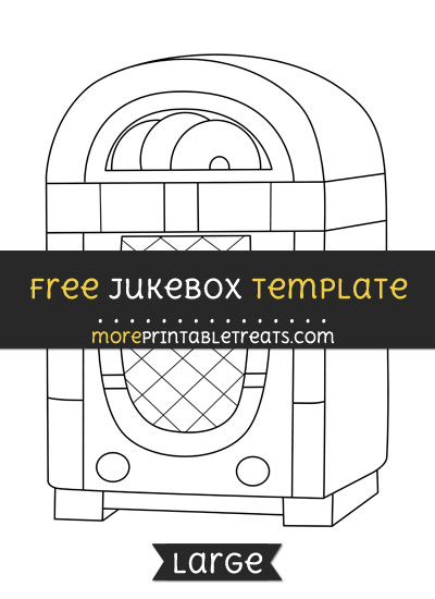 Free Jukebox Template - Large