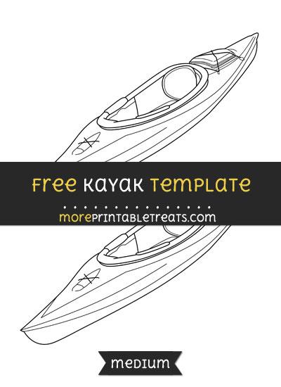 Free Kayak Template - Medium