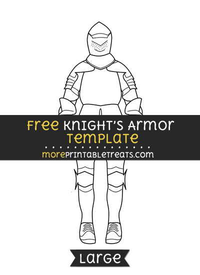 Free Knights Armor Template - Large