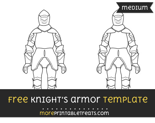 Free Knights Armor Template - Medium