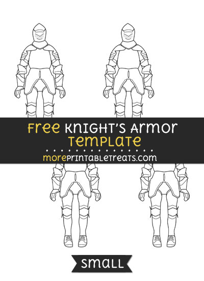 Free Knights Armor Template - Small