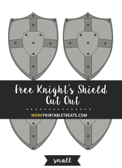 Free Knight's Shield Cut Out - Small