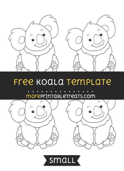Free Koala Template - Small