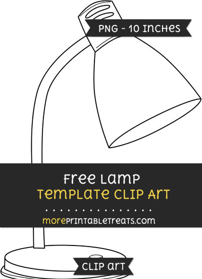 Free Lamp Template - Clipart