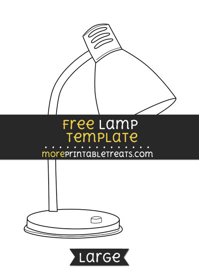 Free Lamp Template - Large