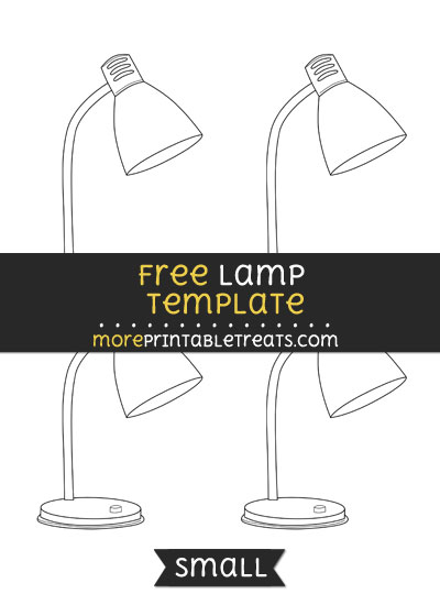 Free Lamp Template - Small