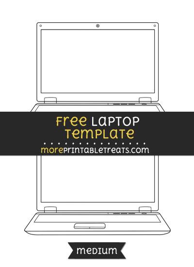 Free Laptop Template - Medium