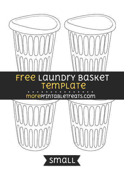 Free Laundry Basket Template - Small