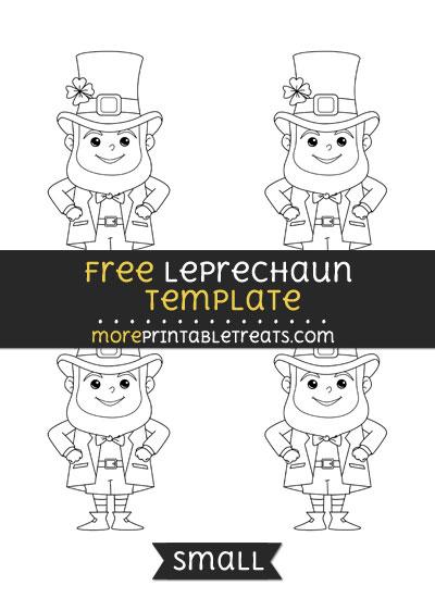 Free Leprechaun Template - Small