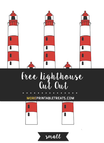 Free Lighthouse Cut Out - Small