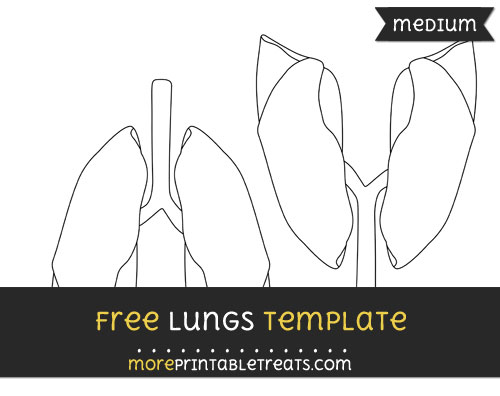 Free Lungs Template - Medium