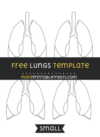 Free Lungs Template - Small